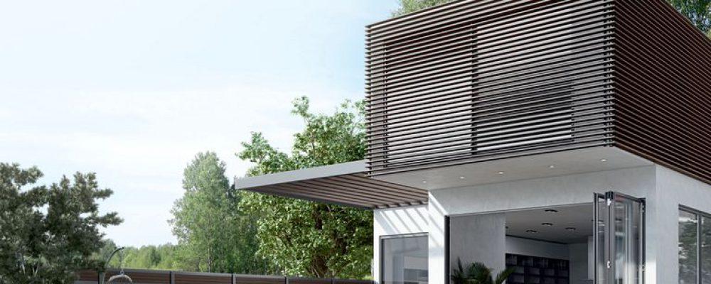 WOODALUX: Ένα εξαιρετικό υλικό για τη σύγχρονη αρχιτεκτονική από την ALUMIL