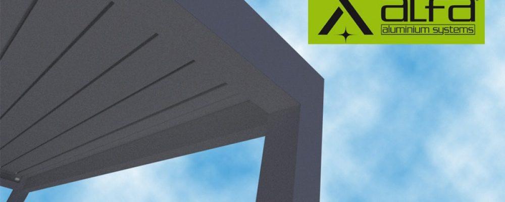 ALFA ALUMINIUM: Βιοκλιματική πέργκολα αλουμινίου