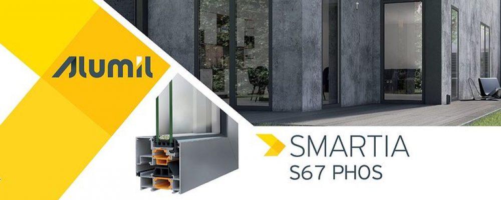 ALUMIL SMARTIA S67 PHOS: Το καινοτόμο ανοιγόμενο κορυφαίας αισθητικής!