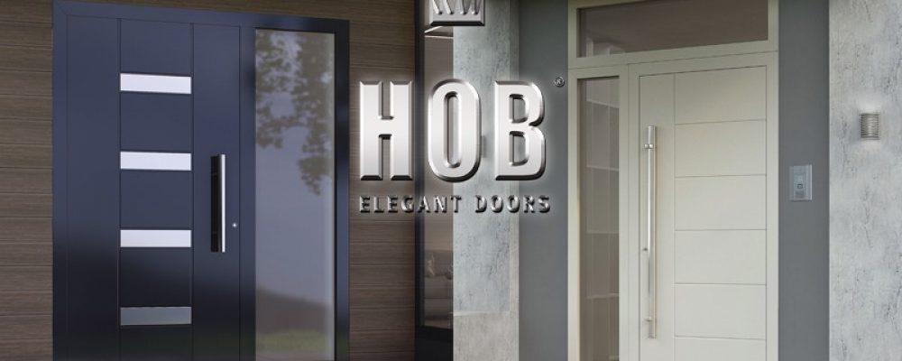 HOB DOORS: Εξαιρετική γκάμα πορτών εισόδου κορυφαίας ποιότητας